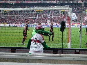 Fußballspiel VfB Stuttgart